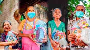 La Pandemia no ha impedido que la Alcaldía de Sonzacate siga entregando mes a mes alimentos a los adultos mayores del municipio - Diario La Huella