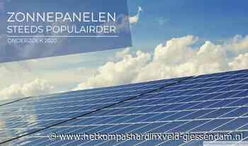 Zonnepanelen steeds populairder in Hardinxveld-Giessendam - HetKompasHardinxveld-Giessendam.nl