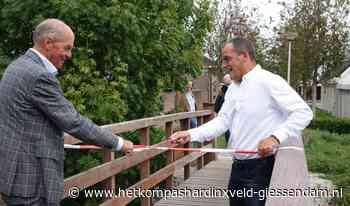 Watermunt brug in Giessenburg officieel opgeleverd - HetKompasHardinxveld-Giessendam.nl