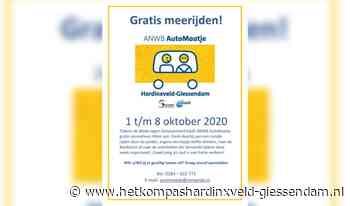 Gratis ritten ANWB AutoMaatje - HetKompasHardinxveld-Giessendam.nl
