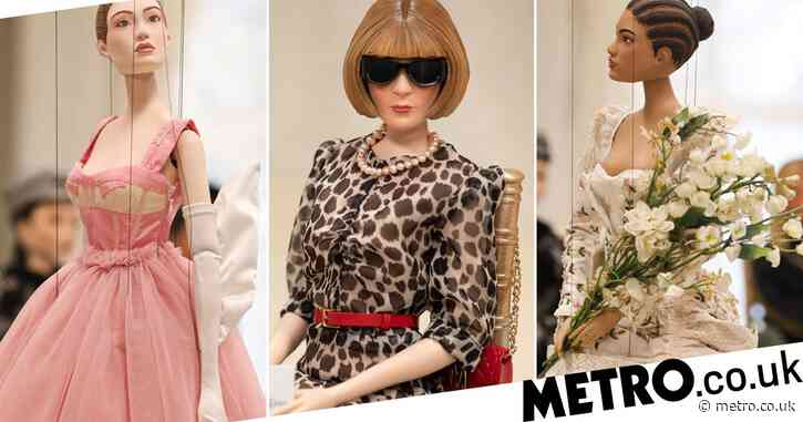 Moschino unveils whole fashion show with miniature marionettes – including tiny Anna Wintour
