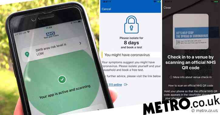 New NHS tracing app forces people to self-isolate as users unable to log results