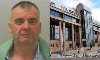 'Highly decorated' police inspector, 58, smashes his wife over the head with a bottle of prosecco