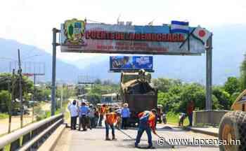 Más de L1 millón para reparar calles en El Progreso - La Prensa de Honduras