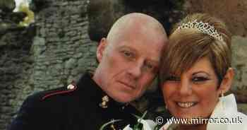 Wife's fury at 'sick farce' as army snubs hero hubby who died a 'broken man'