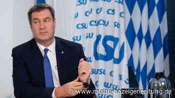Nach Rede auf dem Parteitag: Söders Tasse im Internet ausverkauft - zwei Dinge hat der CSU-Chef übersehen