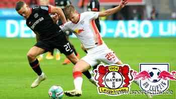 Bayer 04 Leverkusen gegen RB Leipzig 1:1, 2. Spieltag