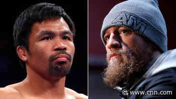 Conor McGregor says his next opponent will be Manny Pacquiao