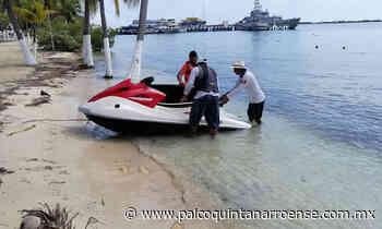 Rescata la Semar a motociclistas acuáticos en Isla Mujeres - Palco Quintanarroense
