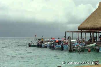 Isla Mujeres sin afectaciones - Canal 10