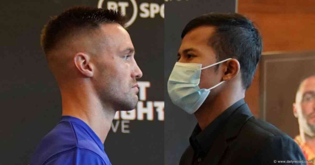 Josh Taylor vs Apinun Khongsong - LIVE updates from London
