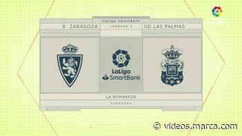 LaLiga SmartBank (J.3): Zaragoza 2-2 Las Palmas - MARCA.com