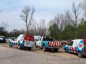Extinguieron el incendio del Paraná de las Palmas en Escobar - zonanortehoy.com