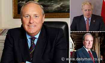 Former Daily Mail editor Paul Dacre is offered role as chairman of Ofcom by Boris Johnson