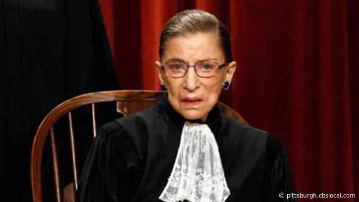 Pittsburgh Groups To Honor Life Of Justice Ruth Bader Ginsburg