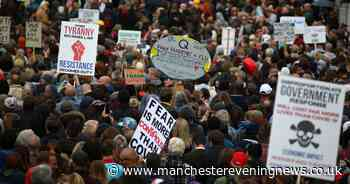 Thousands attend anti-lockdown demonstrations in London with 10 arrested