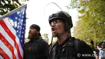 Dozens in body armour arrive in Portland, Ore., for far-right rally as tensions escalate in U.S.