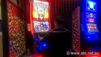 Doug isn't supposed to be allowed to gamble. The ABC watched on as pubs let him play the pokies