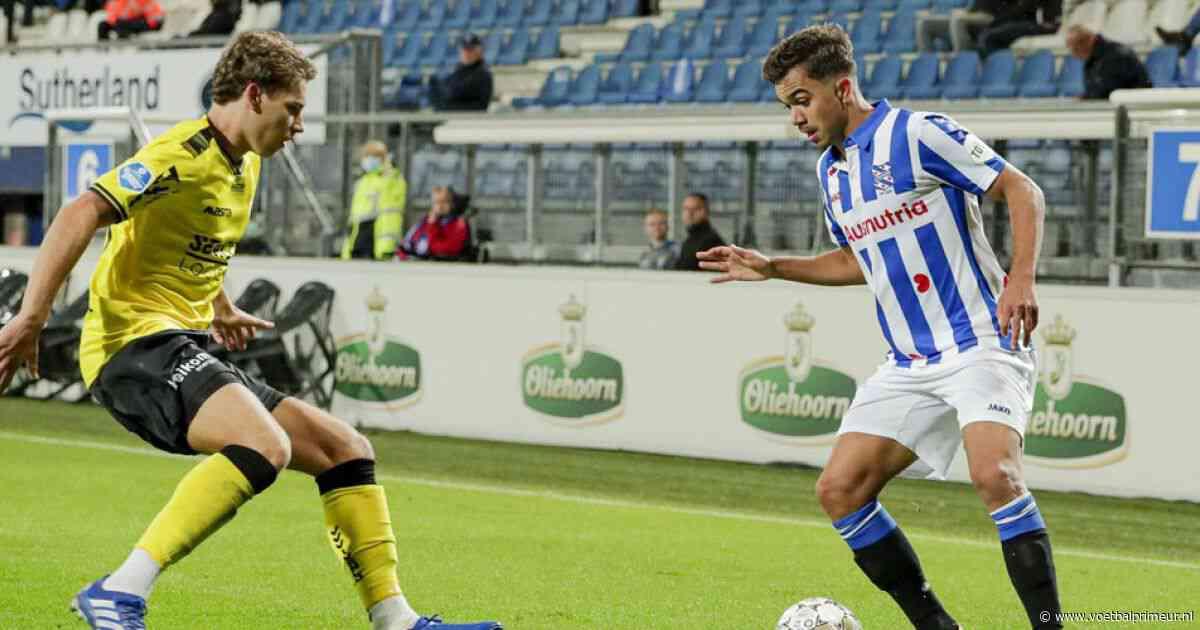 Heerenveen maakt het spannend tegen negental VVV, maar behoudt maximale score