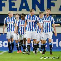 Heerenveen wint weer en blijft aan kop in Eredivisie, ruime zege PEC