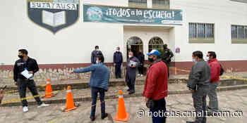 Se realizarán elecciones atípicas bajo estrictos protocolos de bioseguridad en Sutatausa - Canal 1