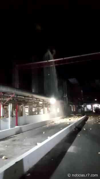 Fábrica da Ambev de Juatuba (MG) tem explosão em tanque de cerveja - HORA 7