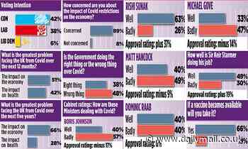 Voters more worried about impact of coronavirus crisis on economy than over health of nation