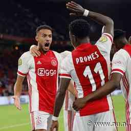 Ajax boekt met tiental zwaarbevochten zege op Vitesse en blijft koploper