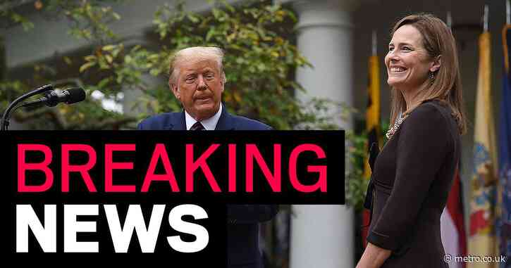Trump nominates replacement for Supreme Court justice Ruth Bader Ginsberg