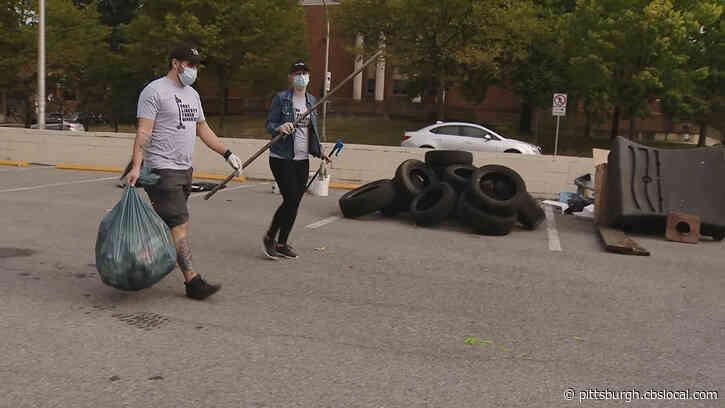 Hundreds Of Volunteers Gather Across Pittsburgh For 'Garbage Olympics'
