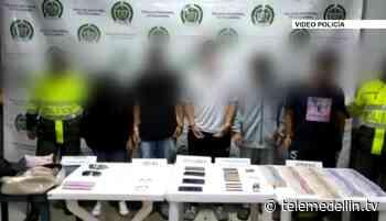 Cinco personas capturadas por hurto en El Peñol - Telemedellín