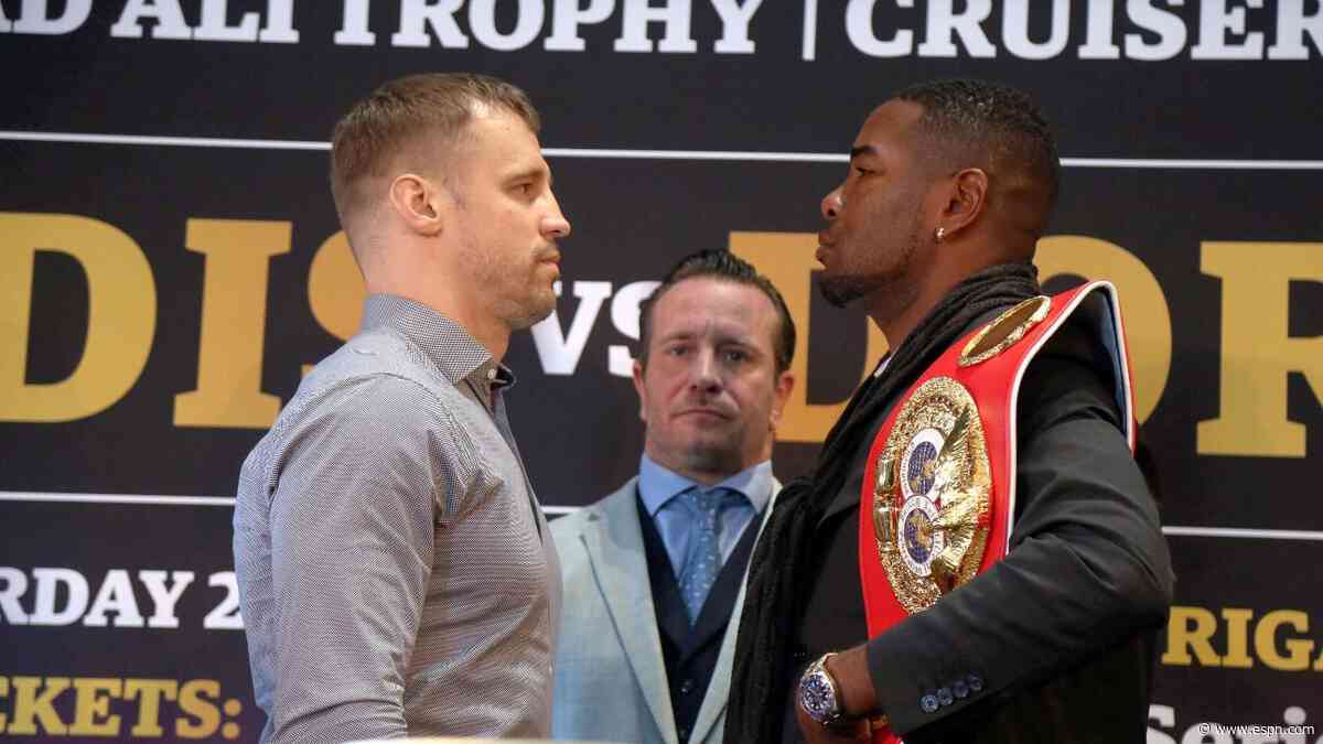 Briedis beats Dorticos for IBF cruiserweight title