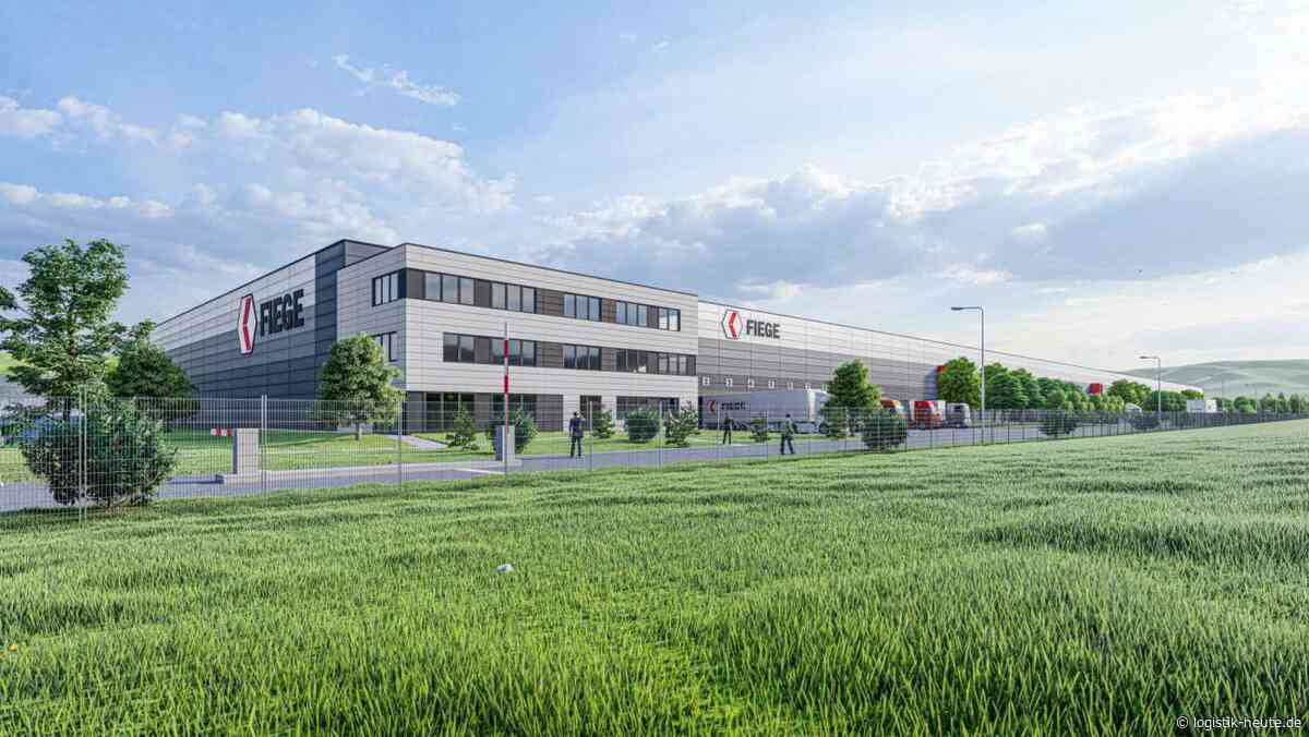 Neubau: Fiege errichtet Multi-User-Center in Gengenbach - Logistik Heute