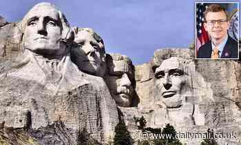 The Californian man makes the proposal that Mount Rushmore in Lakota Sioux & # 39; name & # 39; Rename Igmu Tanka Paha '.