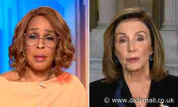 """Gayle King scolds Nancy Pelosi for calling Trump's allies """"henchmen"""" and says it doesn't solve anything"""