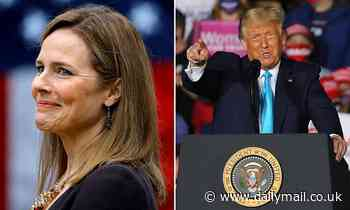 Donald Trump savors his nomination of Judge Amy Coney Barrett