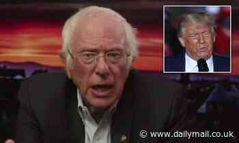 Bernie Sanders warns that there are a 'number of plans' to make sure Trump leaves office if he loses