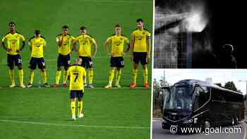 League One club Oxford left stranded after antibacterial spray sidelines bus
