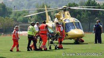 Cade in discesa con la bici, uno schianto terribile: soccorso dall'eliambulanza - BresciaToday