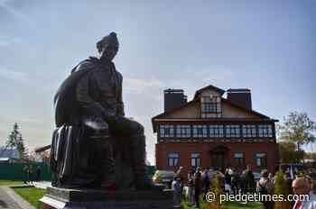 Monument to Suvorov was opened for the 290th anniversary of the commander in the Vladimir region - Pledge Times