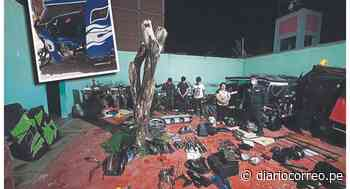 Cae familia que desmantelaba mototaxis robadas en Lambayeque - Diario Correo