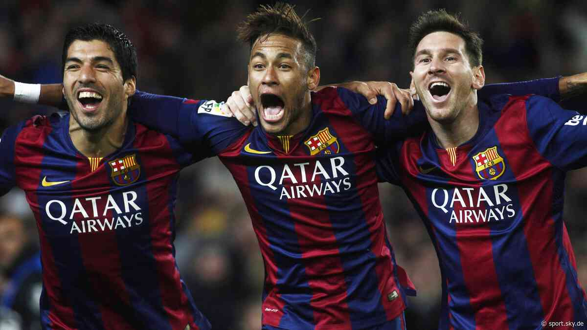 FC Barcelona News: Als Messi, Neymar und Suarez wirbelten - Sky Sport