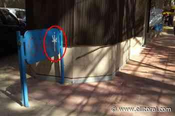 Mendoza: investigan un misterioso graffiti que apareció por toda la ciudad - El Litoral