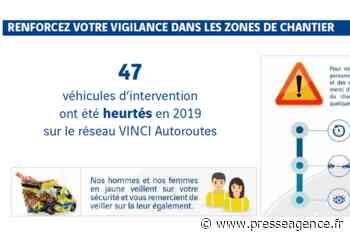GEMENOS : A52, rénovation de la signalisation horizontale et de joints entre Gémenos et Aubagne - La lettre économique et politique de PACA - Presse Agence