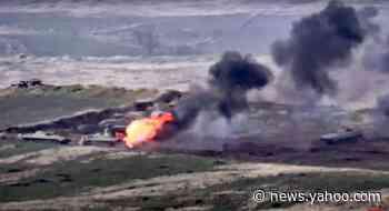 Fighting erupts between Armenia, Azerbaijan in disputed area