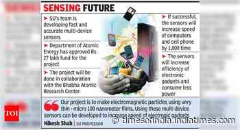 SU project to turn your laptops, smart phones into super gadgets - Times of India