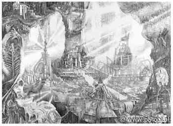 Cartograaf Kingma tekent een kaart van Utopia