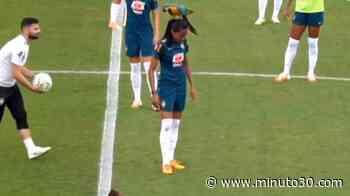 VIDEO: ¡Espectador de buena suerte! Guacamayo invadió el campo de juego y sorprendió a todos - Minuto30.com