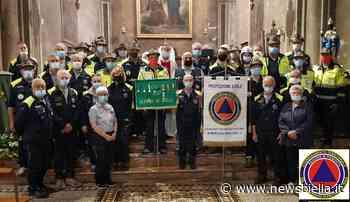 Gaglianico, don Paolo benedice i volontari del Coordinamento Territoriale di Protezione Civile - newsbiella.it
