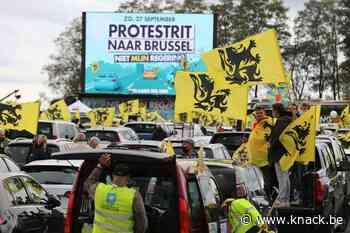 Vlaams Belang houdt 'protestrit' tegen Vivaldi-coalitie